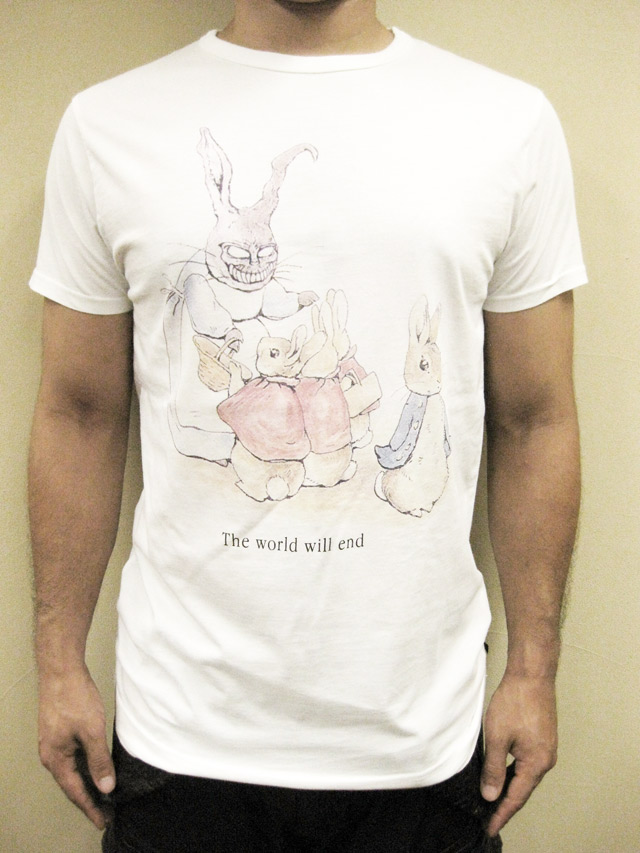 "SIXPACK FRANCE×BELL   ""SILVER BUNNY""Tシャツ"