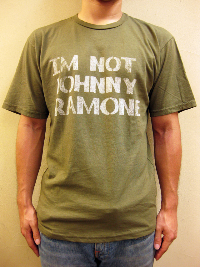 "WORNFREE  ""IM NOT JOHNNY""Tシャツ"