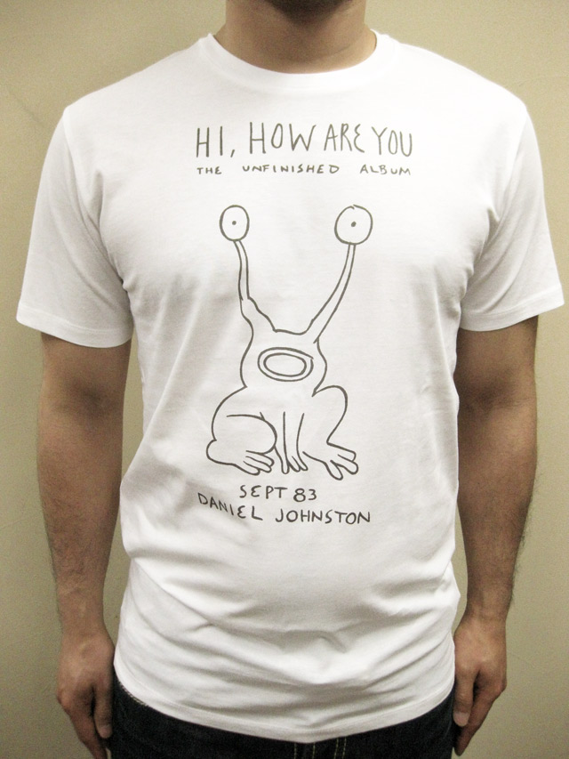 "WORNFREE  ""Hi How are you""Tシャツ"