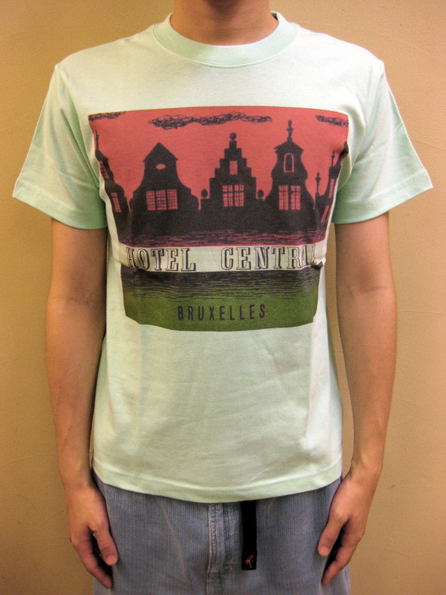 "WTB クラッシックホテル S/S T ""HOTEL CENTRALE BRUXLLES""(Blood & Thunder別注)"