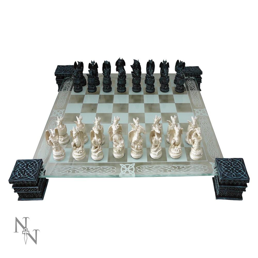 ドラゴンチェスセット Dragon Chess Set 43cm