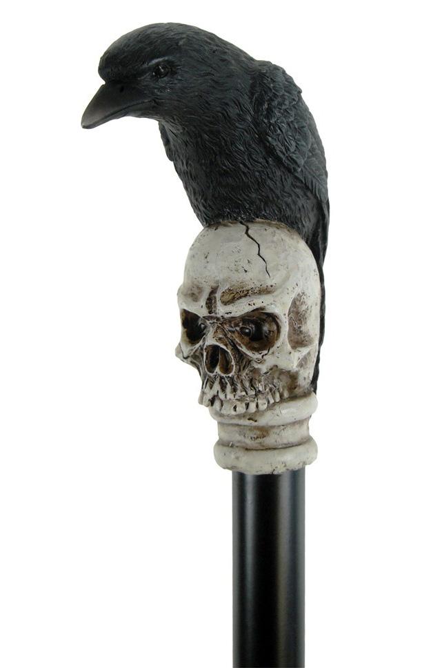 鴉のステッキ 杖 Raven Swaggering Cane 94cm