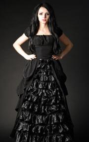 �����å��ɥ쥹☩Goth Victorian Dress
