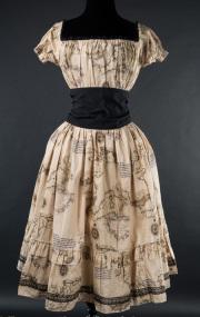 �����å����ԡ���☩�Ͽ�����Map Gothabilly Dress