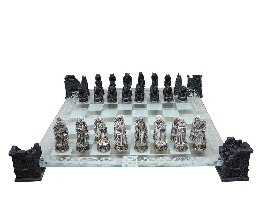 ヴァンパイア チェスセット 43cm 吸血鬼☆ハロウィンチェス