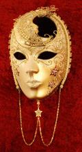 ご予約商品 ベネチアンマスク volto Volto Luna