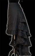 Black  Bustle Skirt☆ゴシックビクトリアンバッスルスカート・ Sサイズ