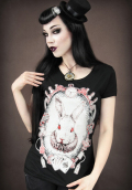 Wonderland Rabbit - Ladies T Shirt