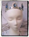 ゴシック 王冠 まるでエルフ族のようなティアラ!