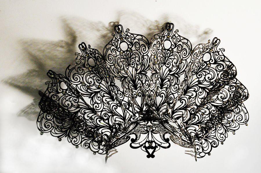 新作!ヴェニス デザイナーズブランド ヘッドドレス ヴェネチアの王妃