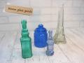 エッフェル塔と青い小瓶のAセット