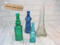 エッフェル塔と青い小瓶のCセット