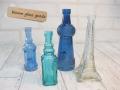 エッフェル塔と青い小瓶のDセット