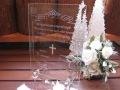 ガラスの結婚証明書【誓いの言葉とスワロフスキークリスタルクロスの輝き】