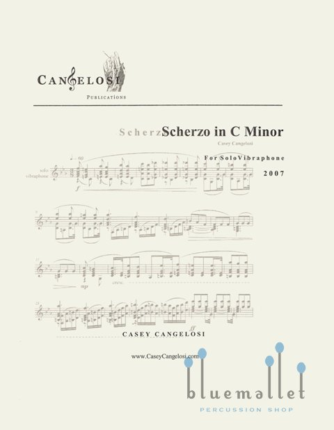 Cangelosi , Casey - Scherzo in C minor for Solo Vibraphone