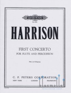 Harrison , Lou - First Concerto for Flute & Pecussion