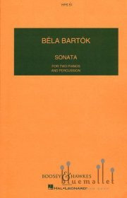 Bartok , Bela - Sonata for Two Piano & Percussion(スコアのみ)