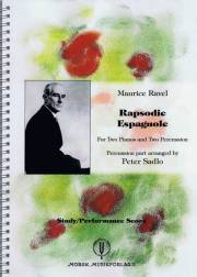 Ravel , Maurice - Rapsodie Espagnole arranged by Peter Sadlo (スコアのみ) (特価品)