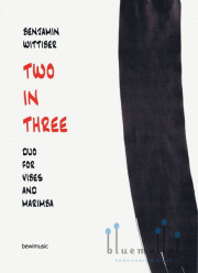 Wittiber , Benjamin - Two in Three Duo for Vibes and Marimba (パート譜のみ)