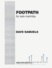 Samuels , Dave - Footpath  for Solo Marimba (特価品)