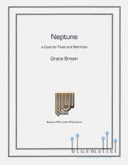 Brown , Grace - Neptune a Duet for Flute and Marimba (スコアのみ)