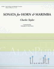 Taylor , Charles - Sonata for Horn and Marimba (スコア・パート譜セット)