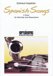 Kopetzki , Eckhard - Spanish Songs 2 Duos