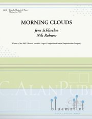 Schliecker , Jens / Rohwer , Nils - Morning Clouds (スコア・パート譜セット)