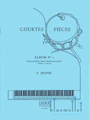 Dupin , Francois - Courtes Pieces Album No. 2