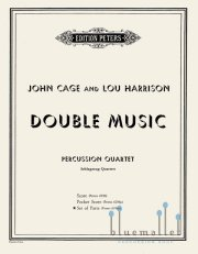 Cage , John / Harrison , Lou - Double Music (パート譜)
