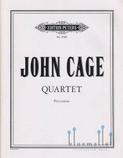 Cage , John - Quartet for Percussion (スコアのみ) (特価品)