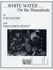 Gauger , Tom - White Water on the Housatonic (スコア・パート譜セット)