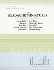 Various Artists - The Headache Miniatures (スコア・パート譜セット)