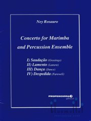 Rosauro , Ney - Concerto for Marimba and Percussion Ensemble (スコア・パート譜セット)