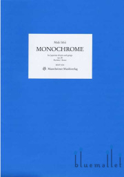 Ishii , Maki - Monochrome for Japanese Drums and Gongs, op.28