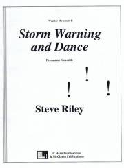 Riley , Steve - Storm Warning and Dance (スコア・パート譜セット)