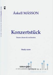 Masson , Askell - Konzertstuck for Snare Drum & Orchestra (オーケストラ伴奏版 / スコアのみ)