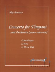 Rosauro , Ney - Concerto for Timpani (Piano Reduction)
