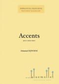 Sejourne , Emmanuel - Accents pour 2 Caisses Claires (スコアのみ)