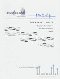 Cangelosi , Casey - Theatric No.1 (スコア・パート譜セット)