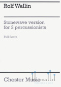 Wallin , Rolf - Stonewave for 3 Percussionists (Score)