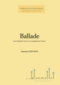 Sejourne , Emmanuel - Ballade pour Vibraphone (スコア・パート譜セット)