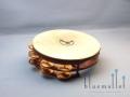 """Lefima Tambourine 10"""" KT-018-0010-20D Bronze"""