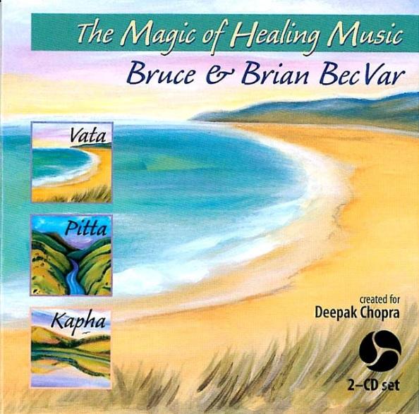 Chopra Center Magic Of Healing 2 Disc Set アーユルヴェーダ体質バランス音楽 【ヴァータ/ピッタ/カパ体質用】