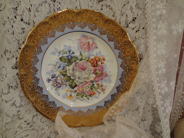 リモージュ飾り皿