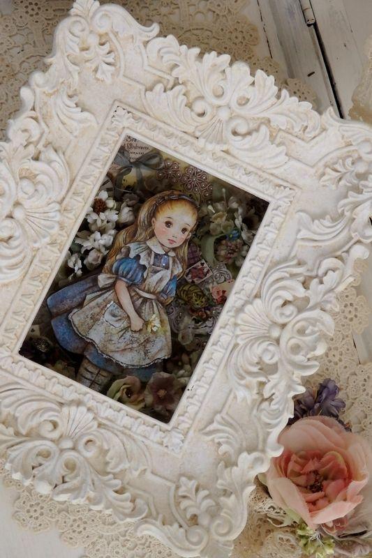 染花とアリス