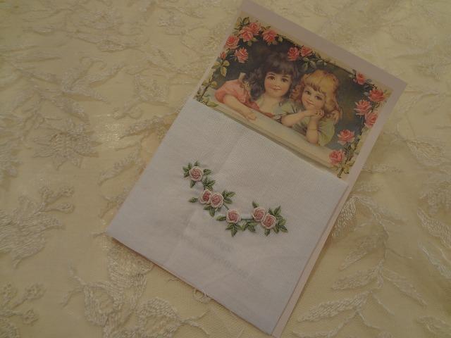 ベトナムローズ刺繍パーツ