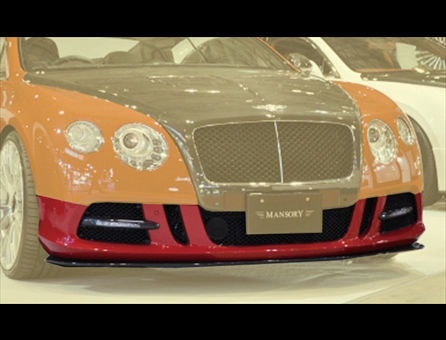 MANSORY BENTLEY Continental GT '12- フロントスポイラー1 with LED