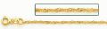 14金イエローゴールドシンガポールチェーン1.5mm幅 60cm
