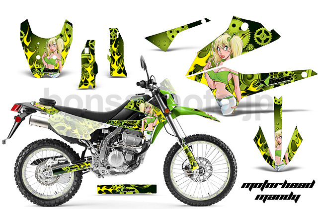 D-tracker X (08-16) AMRデカール フルキット